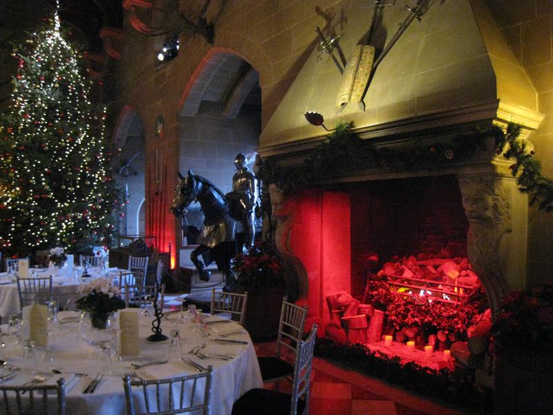 Рождественский ужин в английском замке