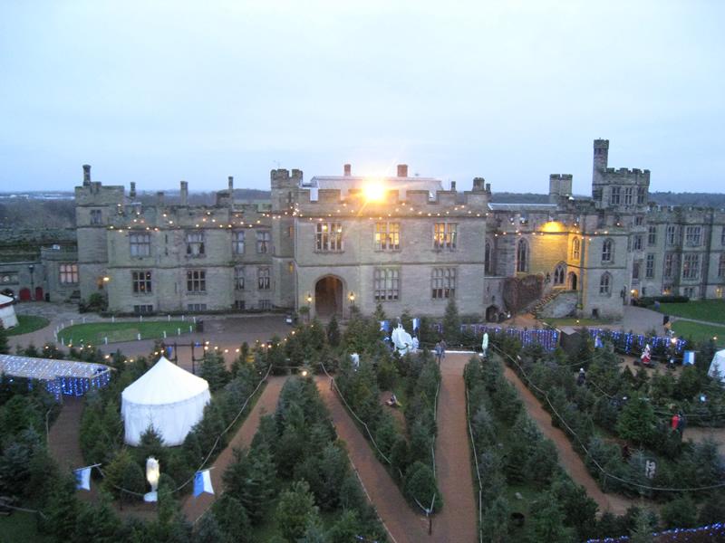 Замок Ворик: английское Рождество