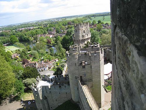 Англия, стены замка Ворик.